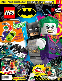Revista Lego Batman Dc # 5 Con Figura The Joker Nueva!