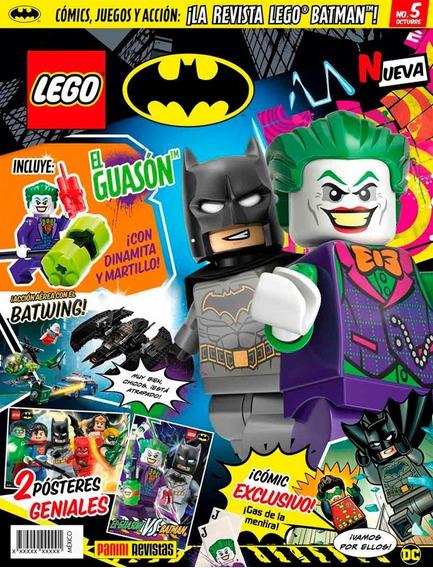 Revista Lego Batman Dc # 5 Con Figura The Joker Nueva!