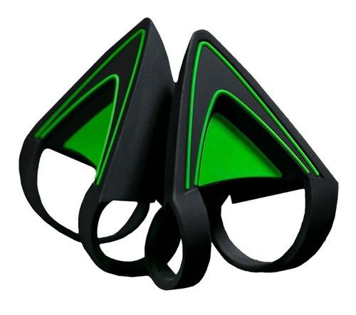 Kitty Ears Orejas Para Auriculares Razer Kraken Green