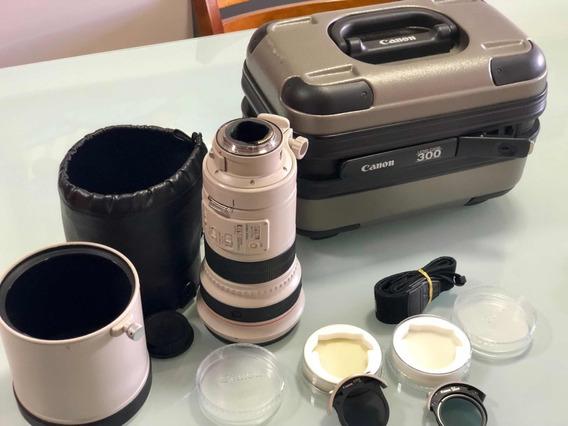 Canon Ef 300mm F/2.8l Is Usm Lente