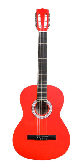 Guitarra Clasica Criolla Colores Ideal Estudio