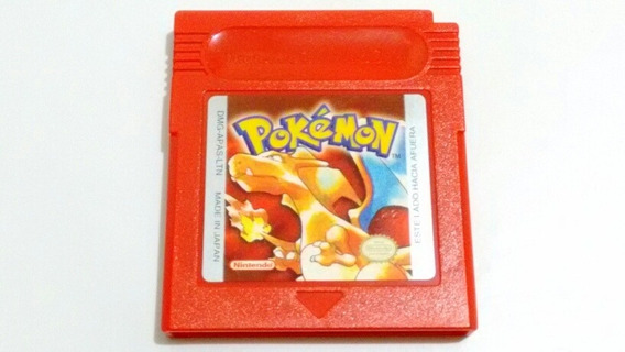 Pokémon Red Version Original Espanhol