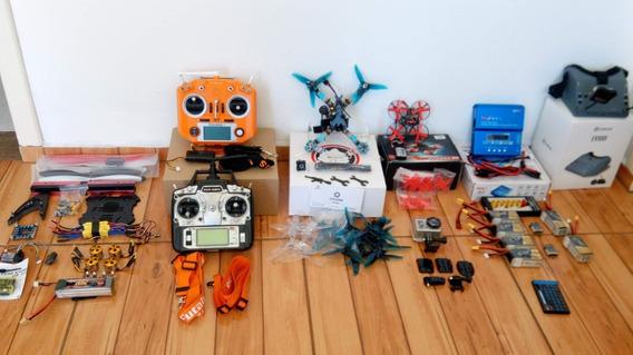 Drones Fpv + Gopro + Óculos Fpv + Baterias + Carregador
