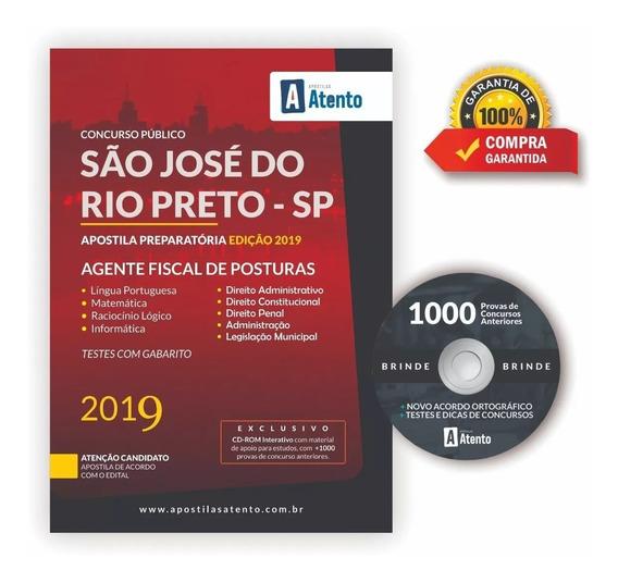 Apostila Fiscal De Posturas São José Do Rio Preto 2019
