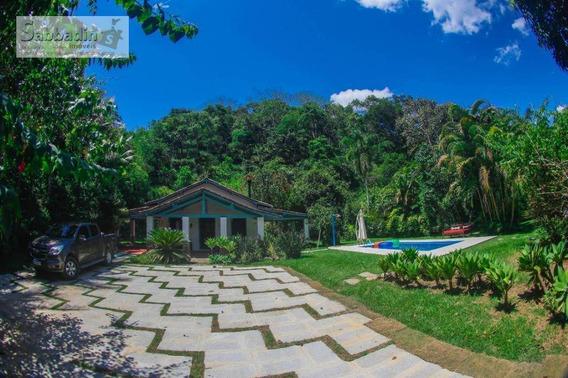 Sítio Com 6 Dormitórios, Terreno De 3.700 M² 80% Plano À Venda Por R$ 790.000 - Secretário - Petrópolis/rj - Ca0178