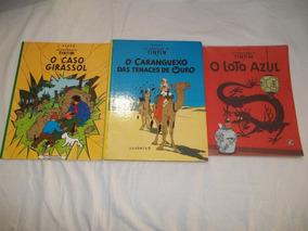 Hq Lote C/ 3 Gibis - As Aventuras De Tintin - C67