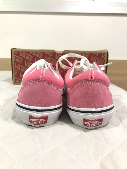 Tenis Vans Old Skool Strawberry Pink