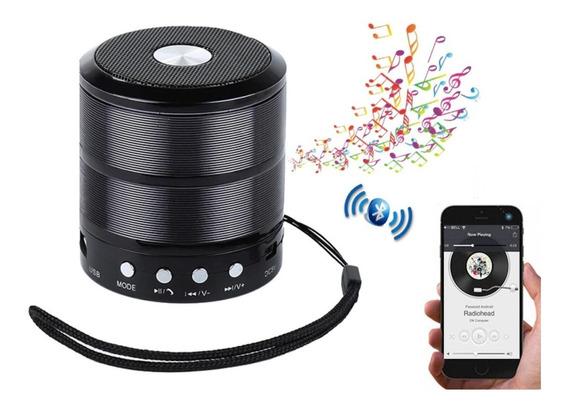 Caixinha Som Portatil Bluetooth Sd Radio Fm Caixa Leve