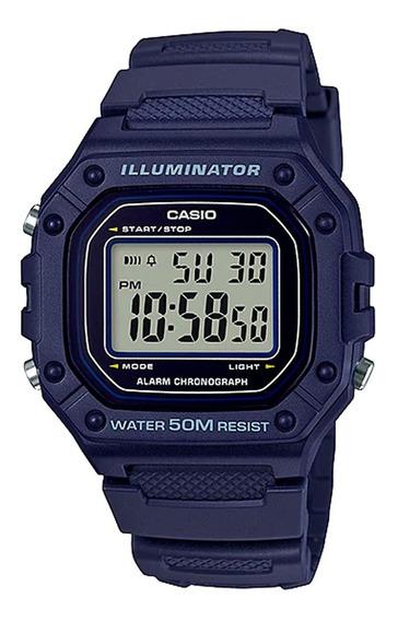 Relógio Casio Unissex Digital W-218h-2avdf