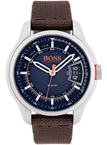 Reloj Análogo Marca Hugo Boss Modelo: 1550002 Color Plata Pa