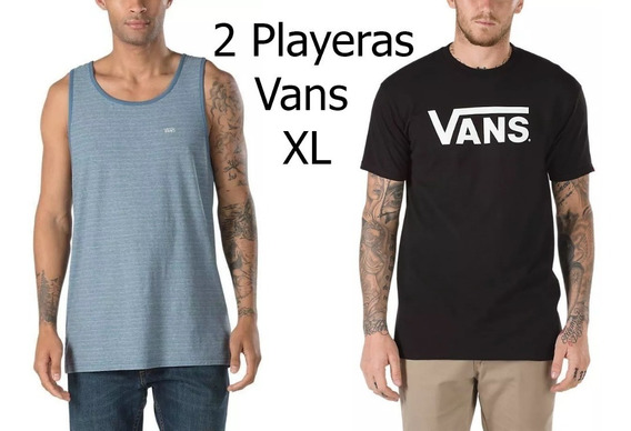 2x Playeras Vans 1 Sin Mangas Tank Top Lote Dc Urban Beach