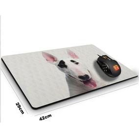 Mouse Pad Cachorro Bull Terrier Pirata 42 Cm