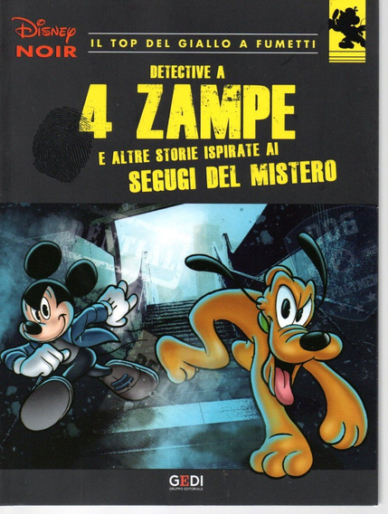 Disney Noir Italiano 6 - Gedi 06 - Bonellihq Cx435 I18