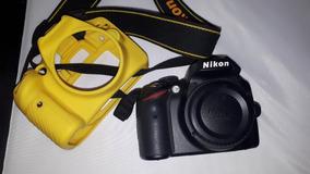 Câmera Nikon D3200 Lente 55-200 Com Capa Protetora