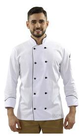 Jaqueta Chef, Uniforme Cozinheiro, Roupa Chef De Cozinha
