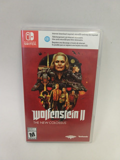 Wolfenstein Ii The New Colossus Nintendo Switch Como Nuevo!!