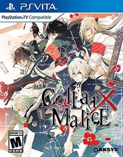 Juegos,collar X Malice - Playstation Vita