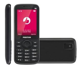 Celular Positivo 2.4 3g Bluetooth Fm Mp3 P30c