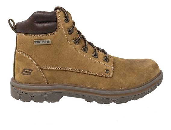 Zapatos de invierno Botines para Hombre Skechers Cuero