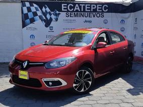 Renault Fluence 2.0 Privilege Cvt Rojo 2017