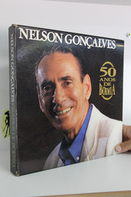 Lp Nelson Golçalves - 50 Anos De Boemia - Box 5 Lps Encarte