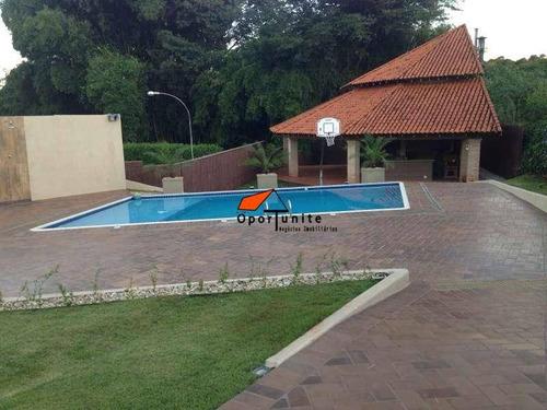 Chácara Residencial À Venda, Condomínio Quinta Da Boa Vista, Ribeirão Preto - - Ch0001