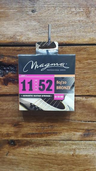 Encordado P/ Guitarra Acústica Magma 011 Electroacústica B20