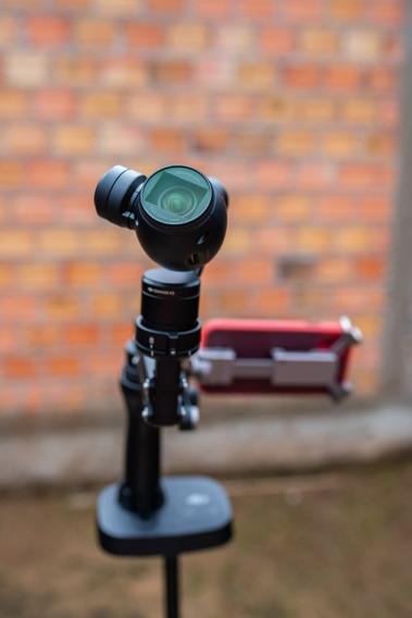 Câmera Dji Osmo 4k + Z-axis + Filtro Nd + Base