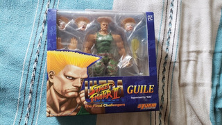 Figura Storm Collectibles Guile Street Fighter