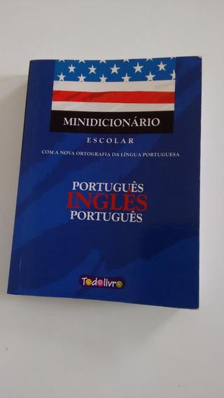 Minidicionário Escolar - Português/inglês
