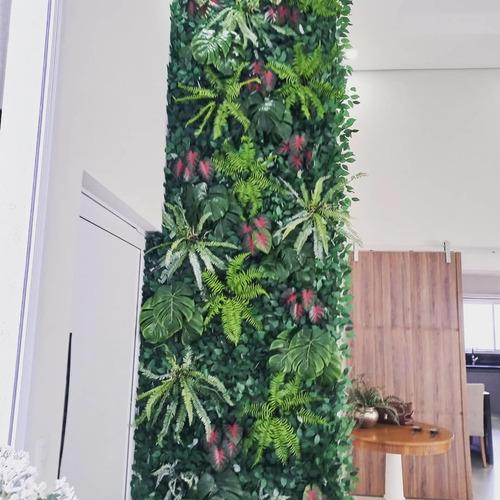 Imagem 1 de 5 de Jardim Vertical Ou Suspenso Artificial