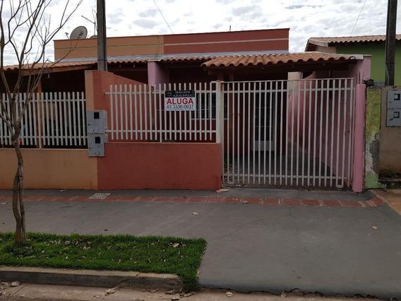 Casa Com 3 Dormitórios Para Alugar Por R$ 800/mês - Jardim Aliança - Londrina/pr - Ca0444