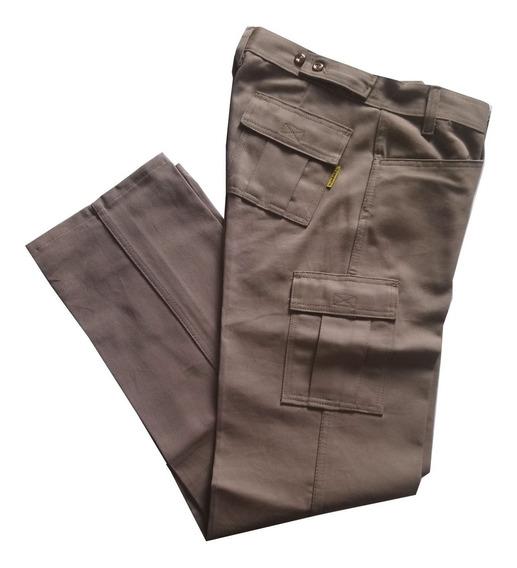 Pantalón Cargo Dama De Trabajo Marca Pampero Cod 11213010d