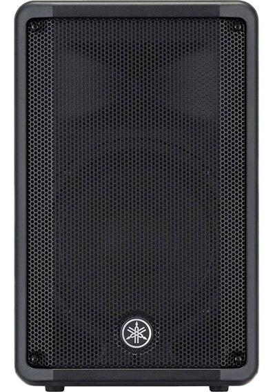 Caixa Acústica Ativa De Som 10 325w Dbr-10 Preta Yamaha
