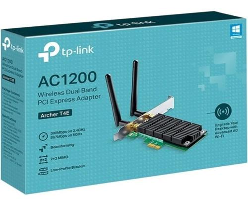 Placa Wifi Red Pci-e Tp-link Archer T4e Ac1200 Dual Band