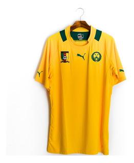 Camisa De Futebol Masculino Seleção De Camarões 2013 Puma