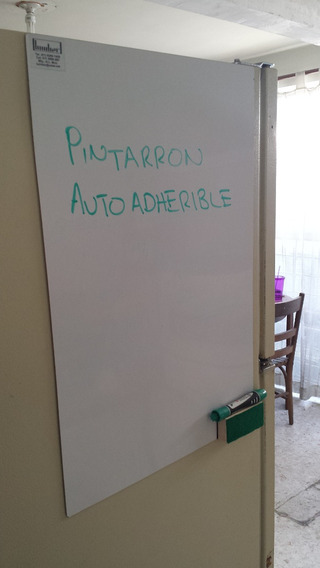 Pintarron Blanco Autoadherible 40 X 60 Cm