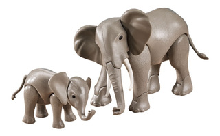 Playmobil 7995 Elefante Con Bebe Add On