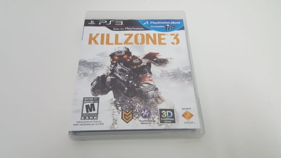 Jogo Killzone 3 - Ps3 - Original