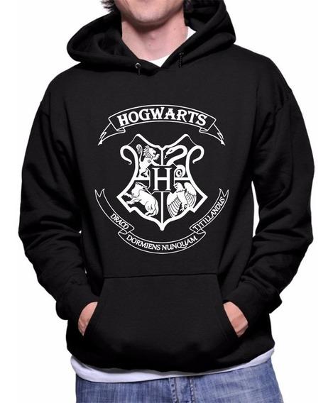 Moletom Harry Potter Hogwarts Blusa Canguru Super Promoção!