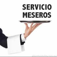 Servicio De Meseros Garantizado