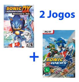Sonic Riders + Sonic Adventure Dx - Pc Dvd Original Lacrado