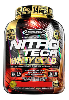 Nitro Tech Gold 2.5kg - Muscletech - Isolada + Hidrolisada