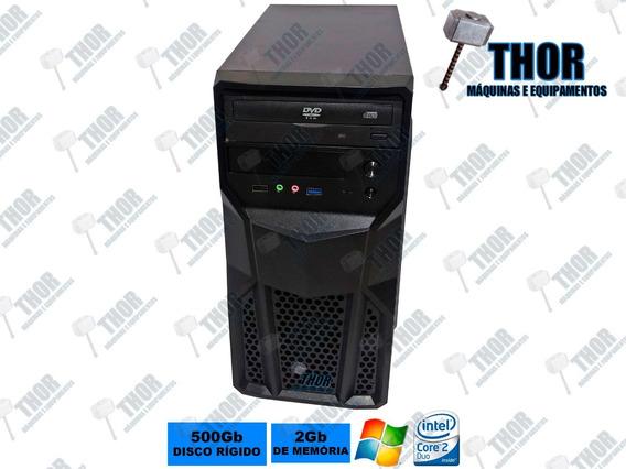 Computador Core 2 Duo 3.0ghz E8400 Ddr3 2gb Hd 500gb