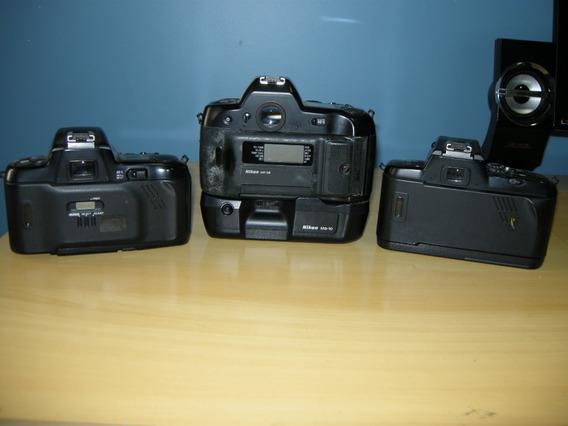 Corpos Nikon , N-5005, N-90-s Qd , E F-601-qd