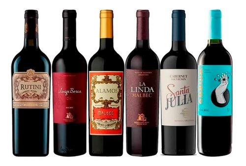 Vinos Premium X6 - Rutini Luigi Bosca Alamos - Hot Sale