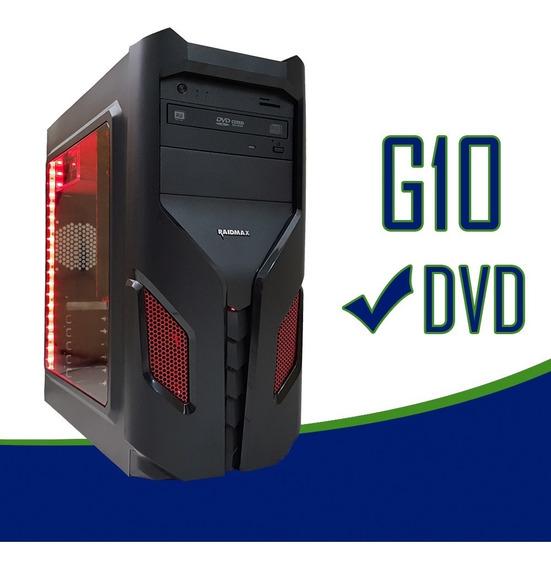 Cpu Gamer Asus/core I5 7400/16gb Ddr4/ 1tb/ Led/ Gtx1050 4gb