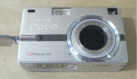 Câmera Fotográfica Pentax Optio Retirada De Peças