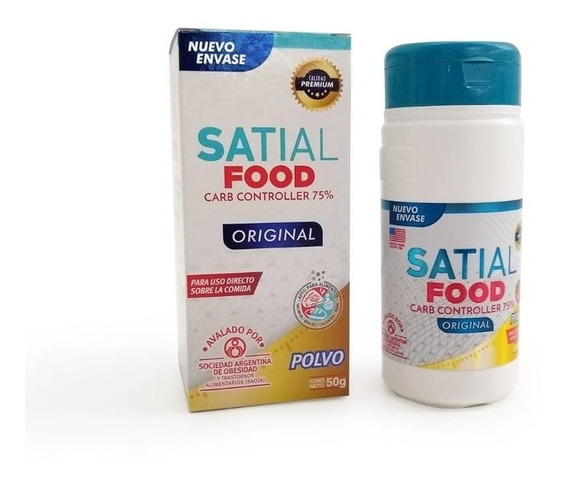 Satial Food Polvo 50g Bloquea Carbohidratos
