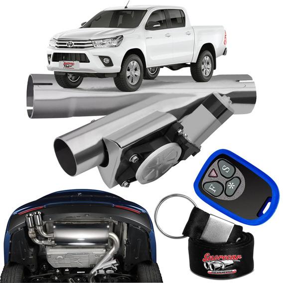 Difusor De Escapamento Esportivo Cromado - Toyota Hilux